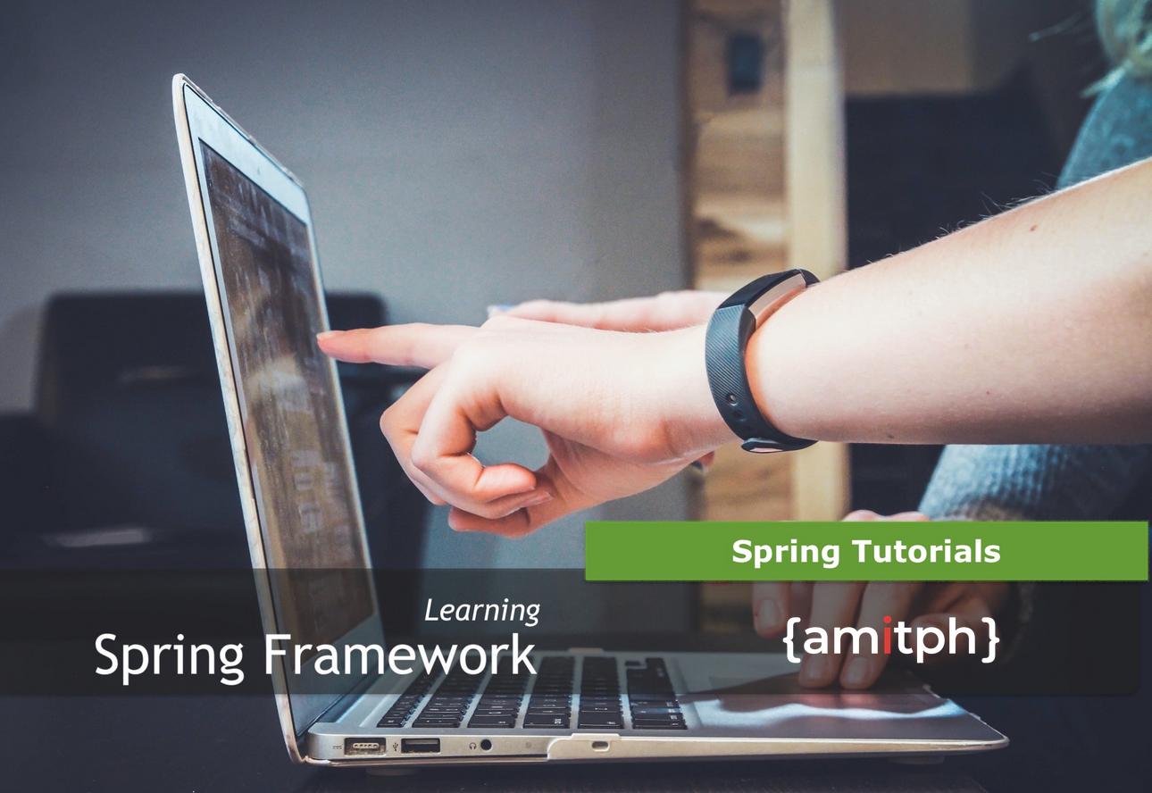 Spring_Tutorials by amitph