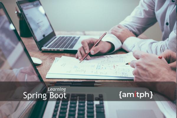 Spring Boot Tutorials on amitph.com
